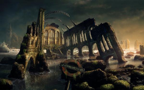 Silent Territory Of Deep, Fantasy Scenes 2