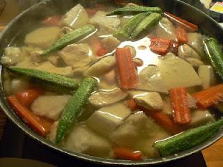アカメ芋 鍋