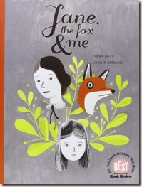 jane the fox and me fanny britt isabelle arsenault book cover
