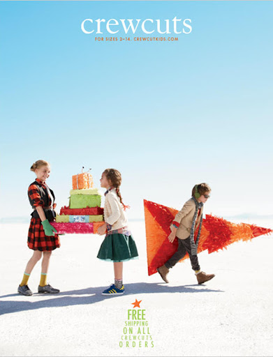 Love what they did for Crewcuts—great gift-wrap ideas!