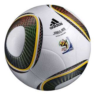 Adidas Jabulani 2010 World Cup soccer ball