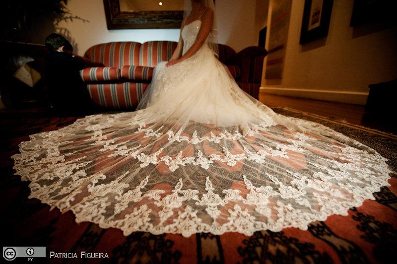 Foto de casamento 0654 de Lucia e Fabio. Marcações: 05/11/2010, Casamento Lucia e Fabio, Fotos de Vestido, La Novia, Rio de Janeiro, Vestido, Vestido de Noiva.