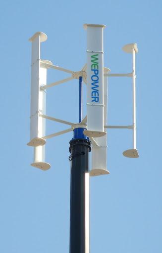 Turbinas Eólicas Con Eje Vertical 10 Veces Más Eficientes que las Horizontales