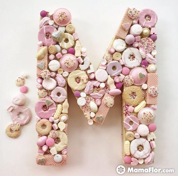 tortas con números 8