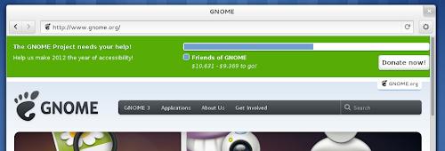 Gnome Web 3.6