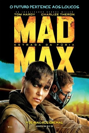 Filme Poster Mad Max: Estrada da Fúria CAM XviD & RMVB Dublado
