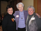 Suzy Bell, Georgia Kidwell and Genelle Spanger