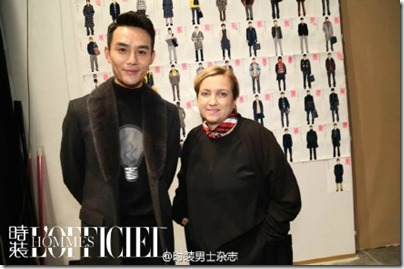 2016.01.18 Wang Kai X Milan Fashion Week AF16 X FENDI 王凱 2016秋冬男裝週 18