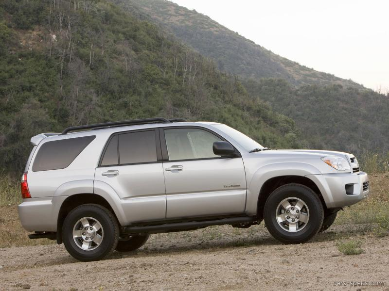 2006 toyota 4runner suv specifications pictures prices. Black Bedroom Furniture Sets. Home Design Ideas