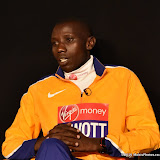 OIC - ENTSIMAGES.COM - Stanley Biwott at the  Virgin Money London Marathon Press Conference Tower bridge London 20th April 2016 Photo Mobis Photos/OIC 0203 174 1069