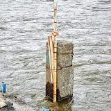 Рейка с уровнем воды, Мишнево
