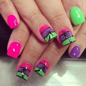 fashionable nail art designs for summer 2017  styles 7