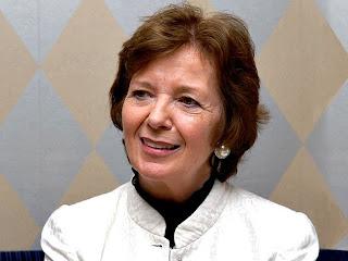 Mary Robinson, l'envoyée spéciale de l'Onu pour la région des Grands Lacs