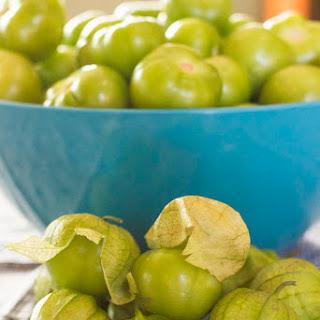 Tomatillo Salsa Bell Pepper Recipes