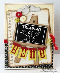 thinking of you chalkboard card-475rr