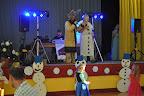 Karneval moderovali sněhulák Olaf a Sob z Ledového království.