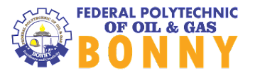 Federal Poly of Oil and Gas Bonny Acceptance Fee