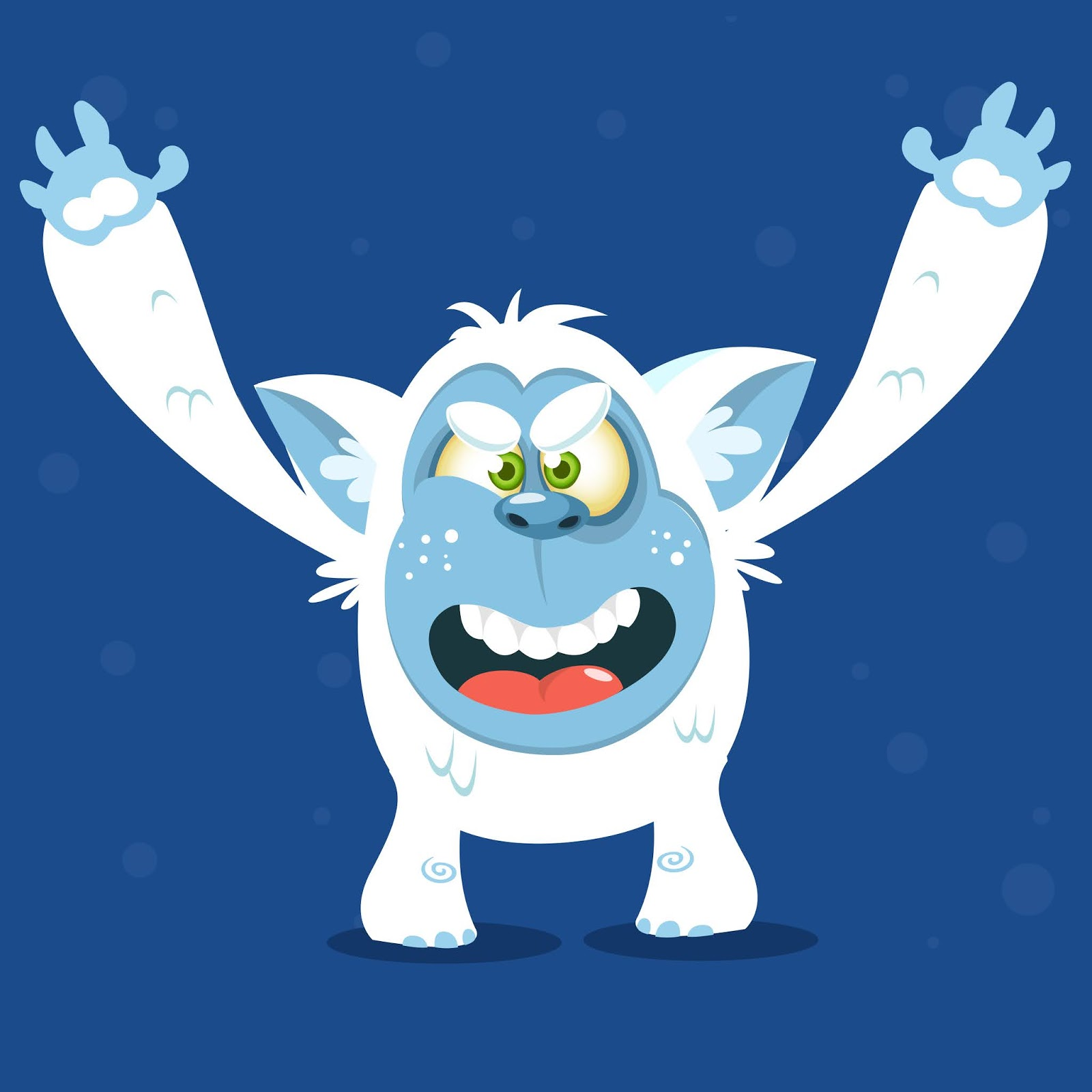 Cartoon Funny Monster Funny Free Download Vector CDR, AI, EPS and PNG Formats