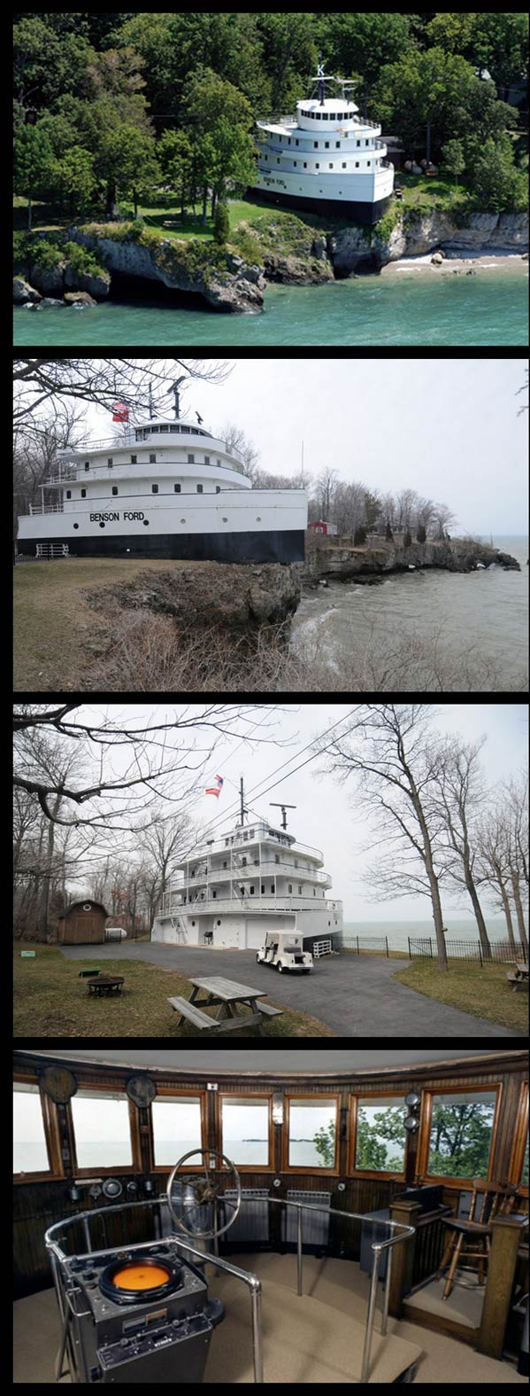 Benson Ford House Benson Ford Shiphouse Kapal Yang Kini Menjadi Sebuah Rumah 24
