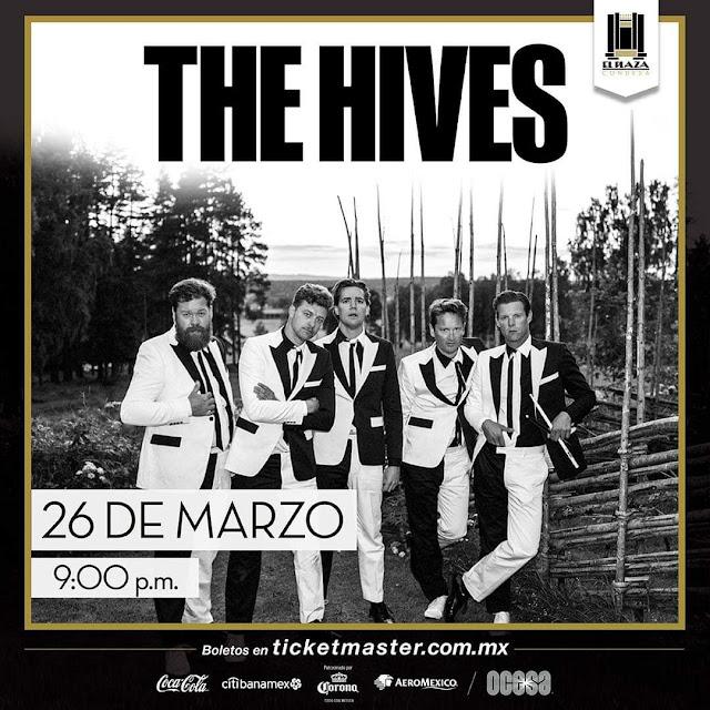 THE HIVES EN EL PLAZA