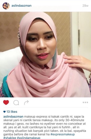Make Up Artis Puji Kulit Saya Cantik!