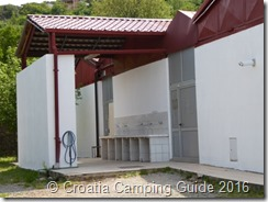 Croatia Camping Guide - Camp Klenovica Toilet Block