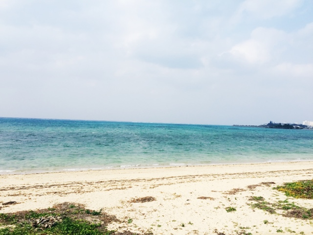 Nakadomari beach