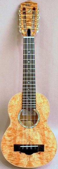 Richard V Clarke Mango Tiple ukulele