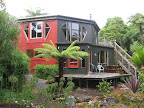 We drove south to Punakaiki and stayed at Te Nikau, which is a group of several small cabins.