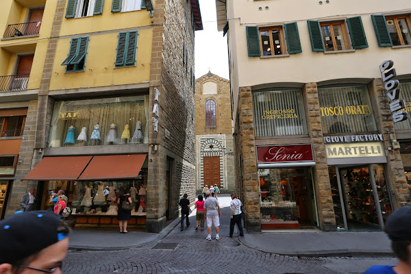 Santo Stefano al Ponte, Piazza Santo Stefano,5, Firenze Florence, Italy