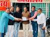 पीड़ित महिला प्राचार्य की पीड़ा से विधायक को कराया अवगत - jabalpur news