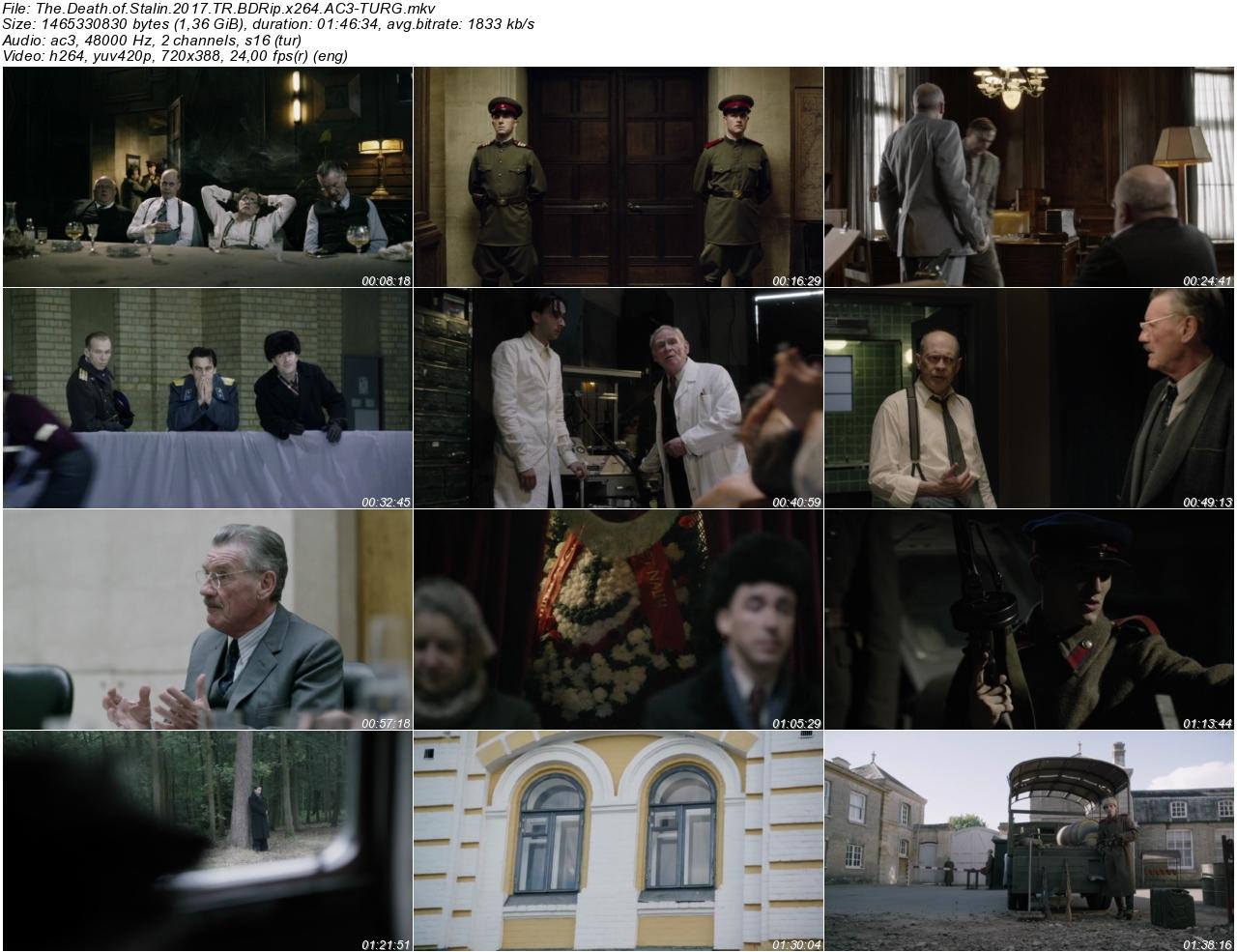 Stalinin Ölümü 2017 - 1080p 720p 480p - Türkçe Dublaj Tek Link indir