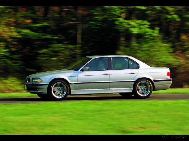1998 bmw 7 series sedan specifications pictures prices. Black Bedroom Furniture Sets. Home Design Ideas