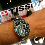 rocking my TISSOT watch in Switzerland in Grindelwald, Bern, Switzerland