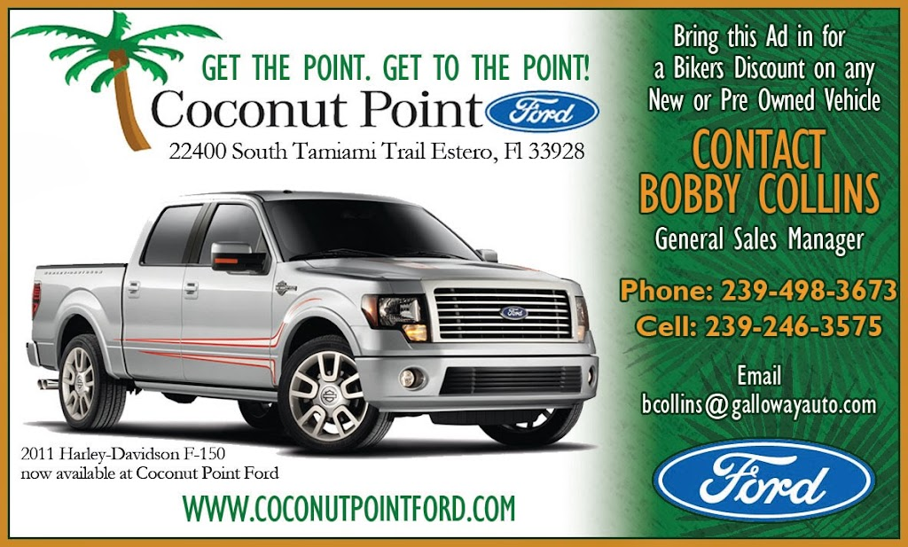 Coconut Point Ford BC Ad