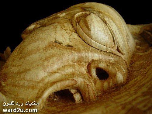 دفقات شعورية نحت على الخشب Stefanie Rocknak