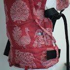Didymos Crimson India Reversible Wrapconversion SSC by MamaMerel