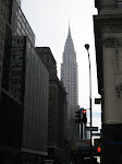 The Chrysler Building as I walked down 5th