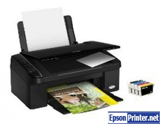 How to reset Epson SX115 by tool