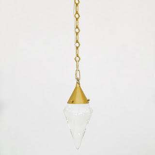 Modern Prismatic Pendant Ceiling Fixture