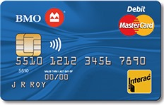 Bank of Montreal Debit Mastercard