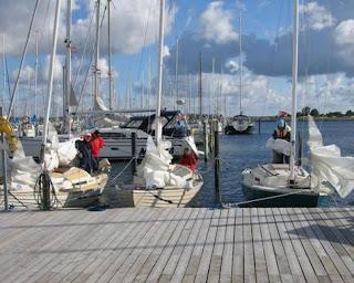 Morgensamling for Folkebåde i Holbæk