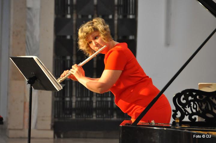 Koncert Ria Georgiadis - flet, Sven Birch - fortepian (Austria) - kościół Świętej Rodziny w Lublinie