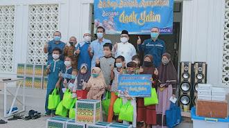 Direksi Jawa Satu Power Berbagi Berkah Ramadhan Bareng Ratusan Yatim Cilamaya