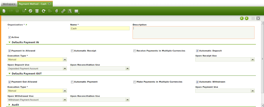 gambar payment method yang sudah otomatis ada karena openbravo configuration data | wirabumisoftware.com