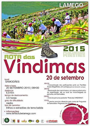Programa – Rota das Vindimas – Lamego – 20 de setembro de 2015