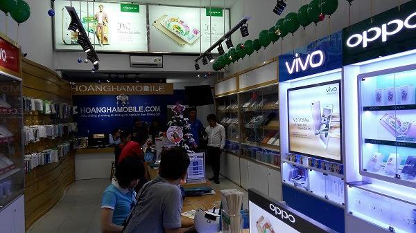 Hoàng Hà Mobile chuyên về di động