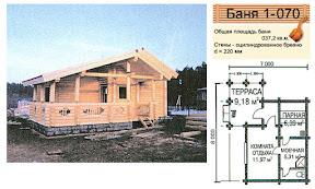 Проект бани 1 - 070