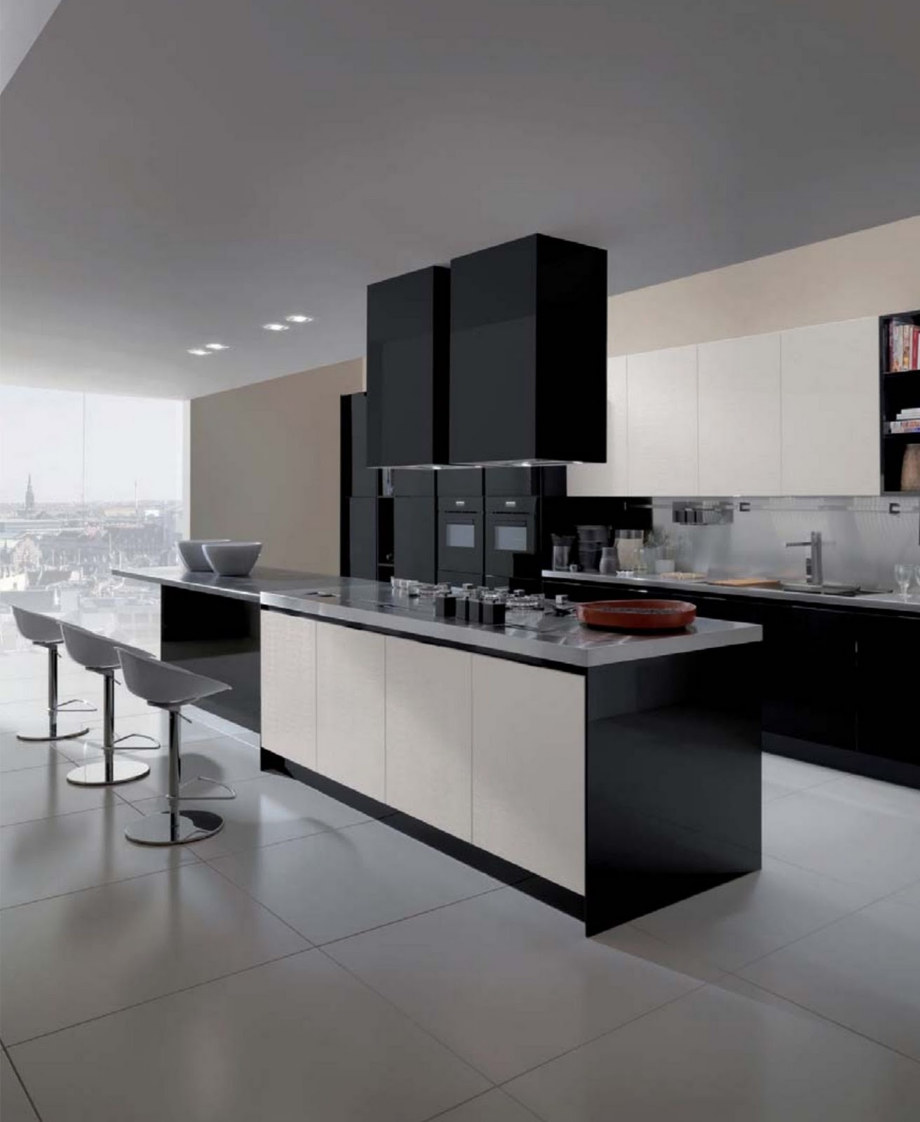Dise o de interiores ram n mart tendencias cocinas for Muebles de vanguardia