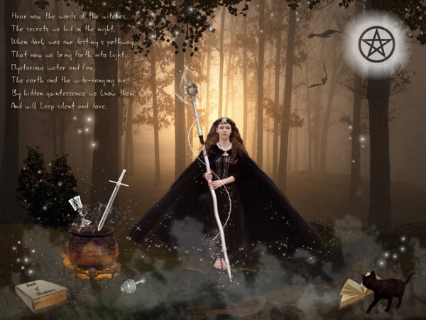 Hecate Goddess Of Witchcraft By The Fairywitch, Fairies Girls